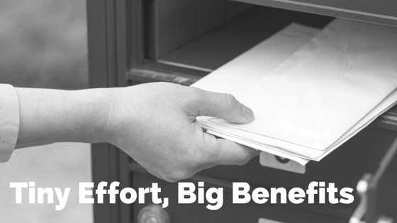 Tiny Effort, Big Benefits